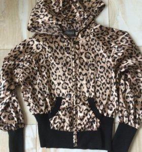 Леопардовая кофточка