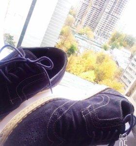 Туфли замшевые Marco Lippi