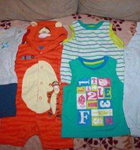 Пакет одежды Mothercare 6-9 мес