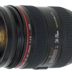 Обьектив ЕF 24-70/2.8 mm L