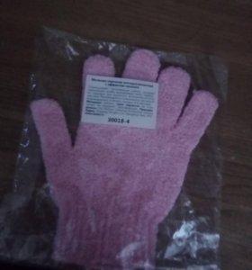 Мочалка-перчатка антицеллюлитная с эффектом пилинг