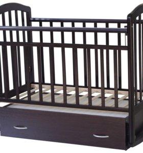 Кроватка-маятник Алита 4 венге