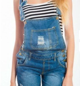 Комбинезон джинсовый жен.