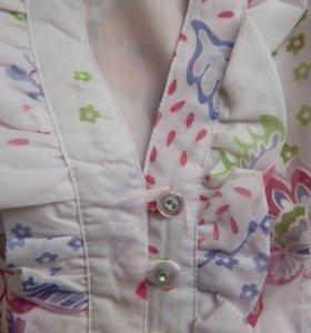 Новая блузка с цветочным узором
