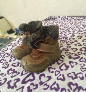 Ботинки зимние натуральная кожа и мех