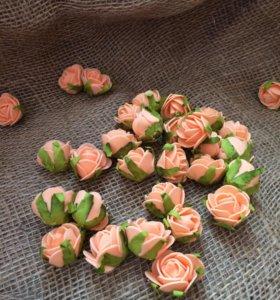 Розочки из фоамирана