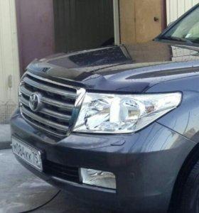 Бампер. Toyota Land Cruiser 200