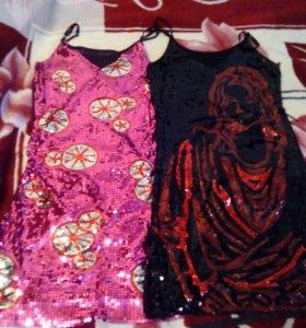 Новые платья,с пайетками.