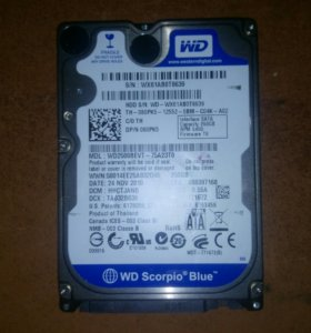 WD Scorpio BLUE 250 GB