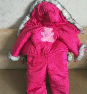 Детский комбинезон (зима)