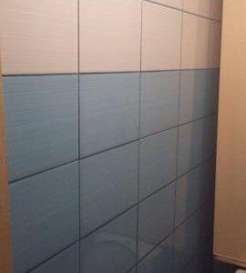 Плитка Дельта (голубая и белая) из Леруа Мерлен