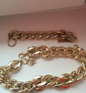 Комплект (браслет и ожерелье)
