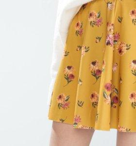 Новая юбка клеш Zara