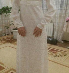 Мусульманское платье на никах