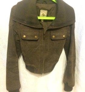 Куртка 42 размер натуральная замша