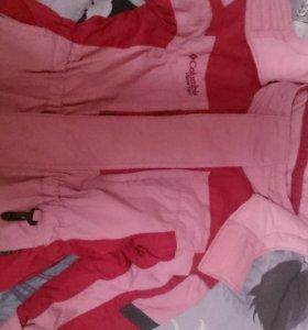 Куртка зима Columbia от 3 до 5 лет