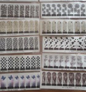 Слайдер дизайны для ногтей