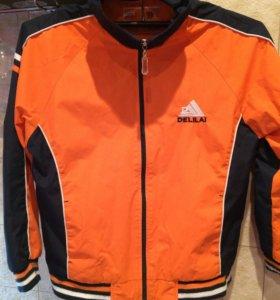 Куртка -ветровка рост 140