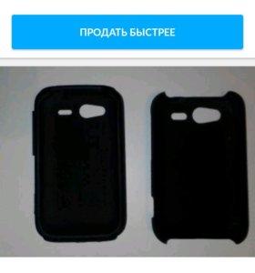 Чехол на телефон HTC Wildfire S черный