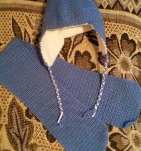 Шапочка и шарф (Комплект)
