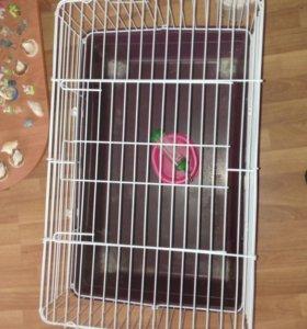 Клетка для морской свинки и декротивного кролика