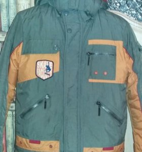 Зимний комплект б/у куртка +штаны