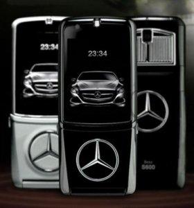Mersedes-Benz S 600 - железный, сотовый телефон