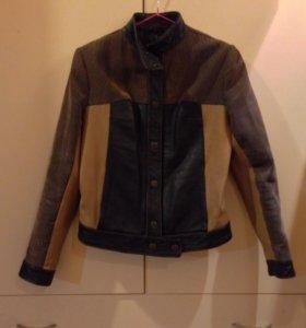 Натуральная кожаная куртка. Торг