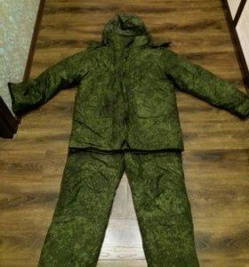 Армейский зимний костюм