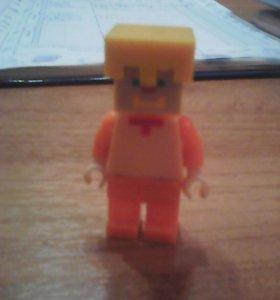 Лего фигурка стив майнкрафт