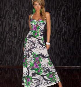 Платье в пол 44 р