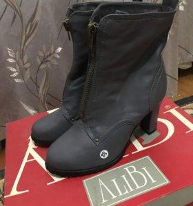 Абсолютно новые тёплые ботинки