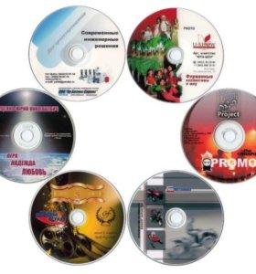 Печать на дисках и фото