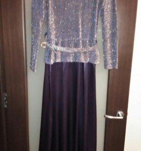 Платье финское в пол
