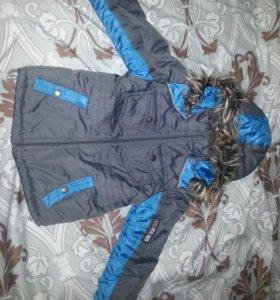 куртка детская на 4 года зима