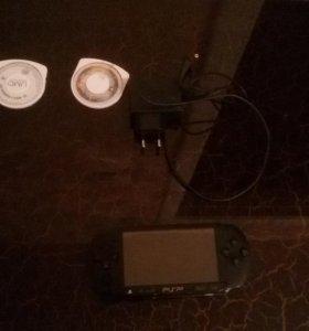 PSP+две игры