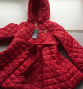 Пальто на девочку CHANEL