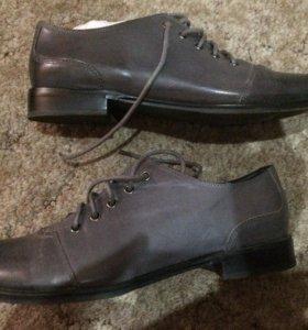 Кожаные ботинки 36-37