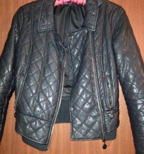 Куртка кожзам демисезонная