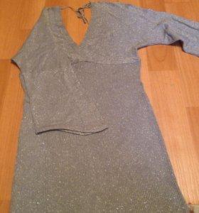 Нарядное платье, р. 48-50.