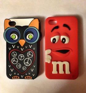 Чехлы на iPhone 4 и 4s