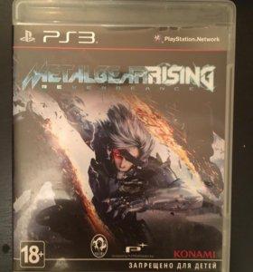 Игра PS3 MetalgearRising revengeance