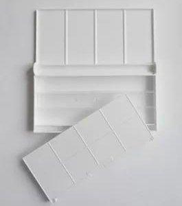 Пластиковая коробочка для акварели на 24 - 36 цвет