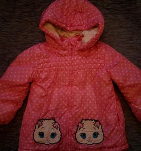 Куртка осень на девочку 86-98