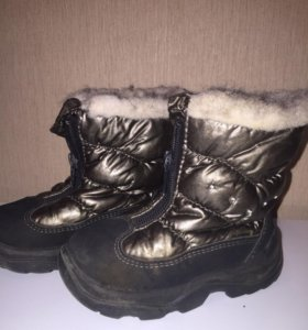 ботинки skandia для девочки 21р зимние