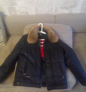 Куртка зимняя р 52 54