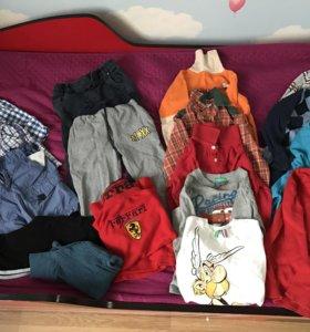 Пакет вещей для мальчика  ( осень) 4 года