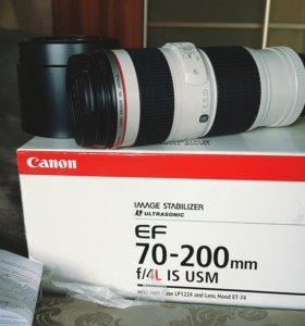 Объектив Canon 70-200