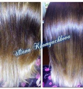 Счастье для волос)Полировка волос
