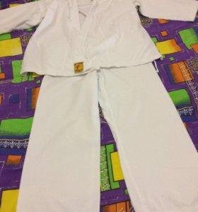Кимоно,щитки,перчатки,ракушка